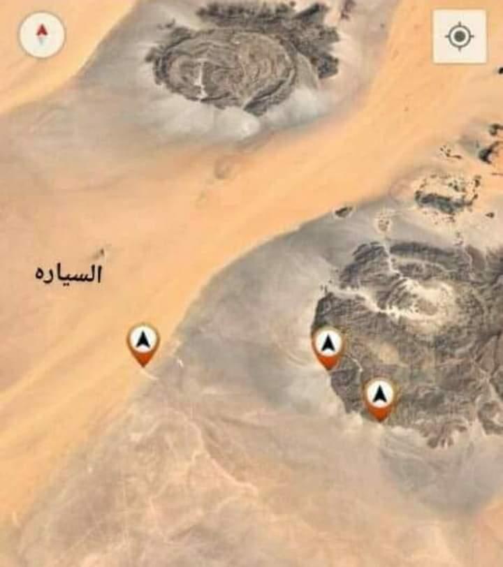 موقع حفر البئر